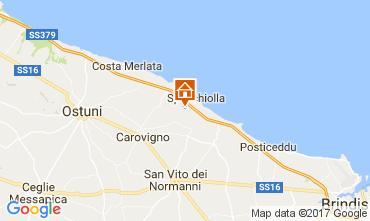 Mapa Ostuni Villa 109477