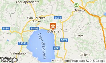 Mapa Bolsena Apartamento 70703