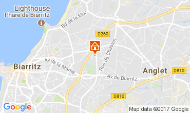 Mapa Biarritz Casa 105500