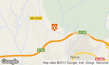 Mapa Nerja Casa rural 92859