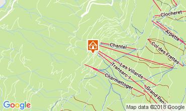 Mapa Les Arcs Apartamento 112980