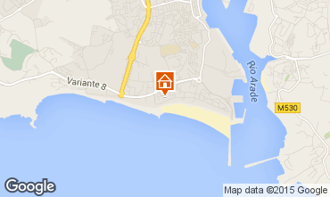 Mapa Praia da Rocha Apartamento 84593