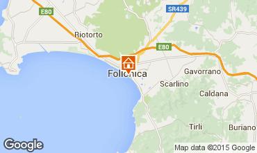 Mapa Follonica Apartamento 80760