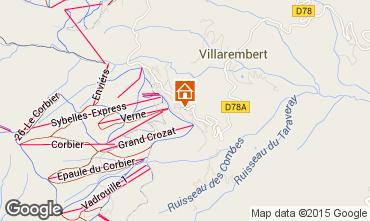 Mapa Le Corbier Apartamento 999