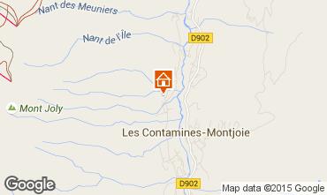 Mapa Les Contamines Montjoie Chalet 16014