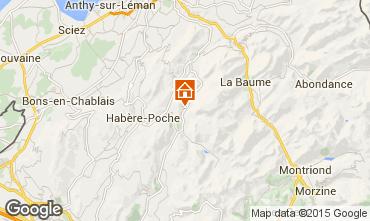Mapa Bellevaux Hirmentaz La Ch�vrerie Apartamento 58444