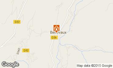 Mapa Bellevaux Hirmentaz La Chèvrerie Apartamento 58444