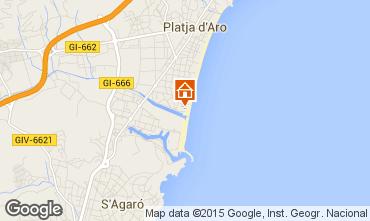 Mapa Playa d'Aro Estudio 93350