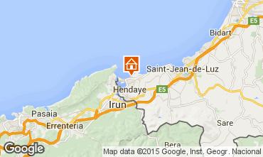 Mapa Hendaya Apartamento 76217