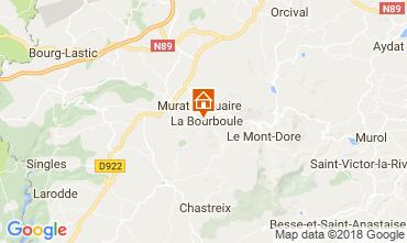 Mapa La Bourboule Apartamento 115202