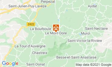 Mapa Le Mont Dore Apartamento 77814
