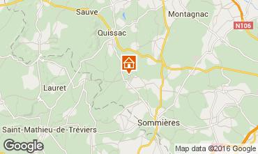 Mapa Sommières Casa rural 12181