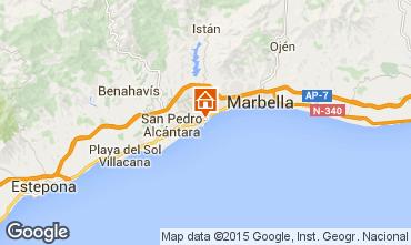 Mapa Marbella Apartamento 100042