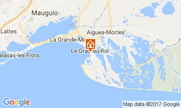 Mapa Le Grau du Roi Apartamento 108260