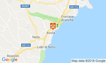 Mapa Avola Villa 116015