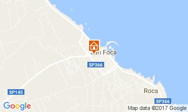 Mapa San Foca Apartamento 103288