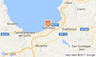 Mapa Balestrate Apartamento 106370