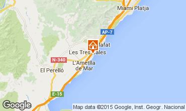 Mapa La Ametlla de Mar Villa 9664