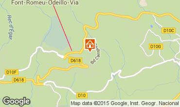 Mapa Font Romeu Apartamento 4157