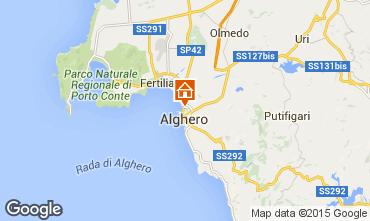 Mapa Alghero Apartamento 84156