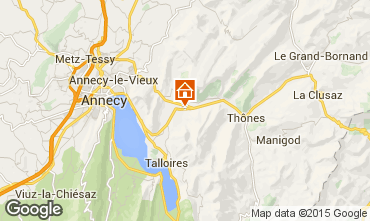 Mapa Annecy Chalet 845