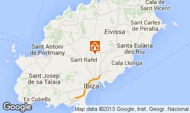 Mapa Ibiza Chalet 73987
