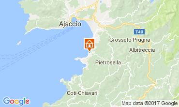 Mapa Porticcio Villa 87260