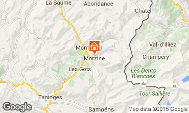 Mapa Morzine Chalet 58010