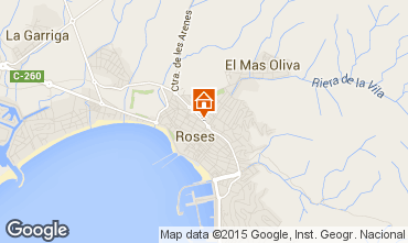 Mapa Rosas Apartamento 76046