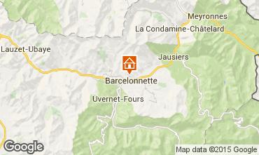 Mapa Barcelonnette Apartamento 4855