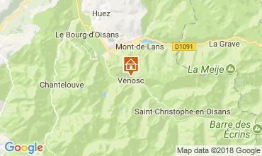 Mapa Les 2 Alpes Apartamento 59663