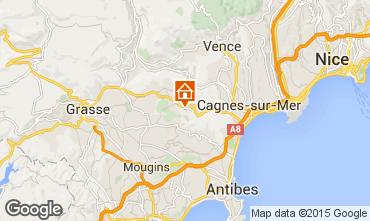 Mapa Roquefort-les-Pins Casa rural 83734