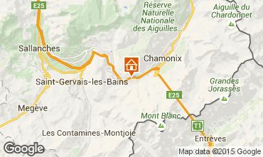 Mapa Chamonix Mont-Blanc Chalet 99958