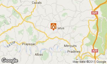 Mapa Cahors Casa 92444