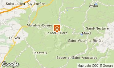 Mapa Le Mont Dore Apartamento 56666