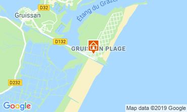Mapa Gruissan-Plage Chalet 102261