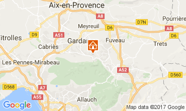 Mapa Marsella Apartamento 112426