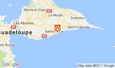 Mapa Sainte Anne (Guadalupe) Apartamento 73124