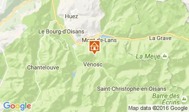 Mapa Les 2 Alpes Apartamento 28328