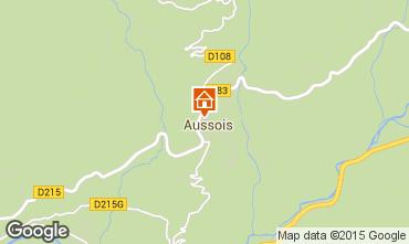 Mapa Aussois Apartamento 80820