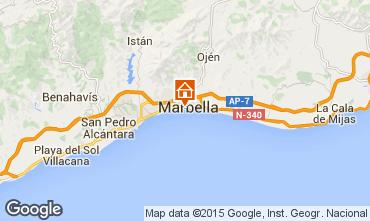 Mapa Marbella Apartamento 37100