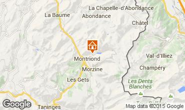Mapa Morzine Chalet 67065