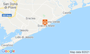 Mapa Eraclea Mare Estudio 97384