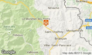 Mapa Serre Chevalier Chalet 15369