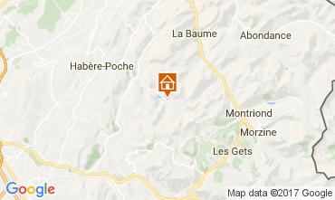 Mapa Bellevaux Hirmentaz La Chèvrerie Apartamento 102046