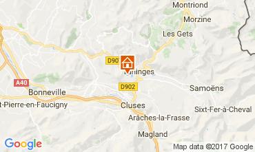 Mapa Les Gets Chalet 66905