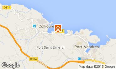 Mapa Collioure Apartamento 70859