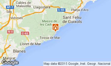 Mapa Tossa de Mar Apartamento 80270
