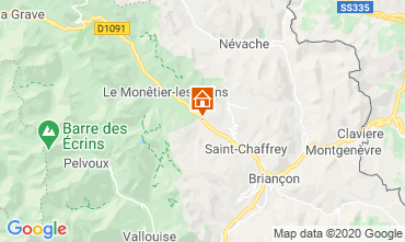Mapa Serre Chevalier Chalet 27244