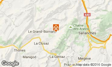 Mapa Le Grand Bornand Chalet 66538